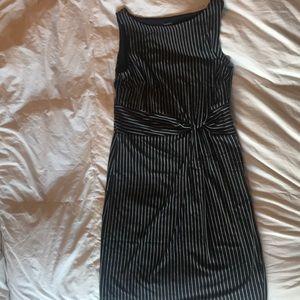 Ann Taylor pin strip dress